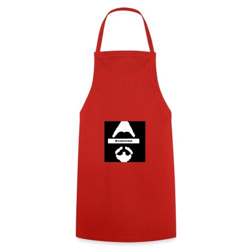 Biturzartmon Logo weiss/schwarz asiatisch - Kochschürze