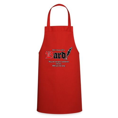Bard! with slogan - Cooking Apron