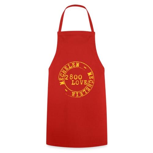 2800 Love - Keukenschort