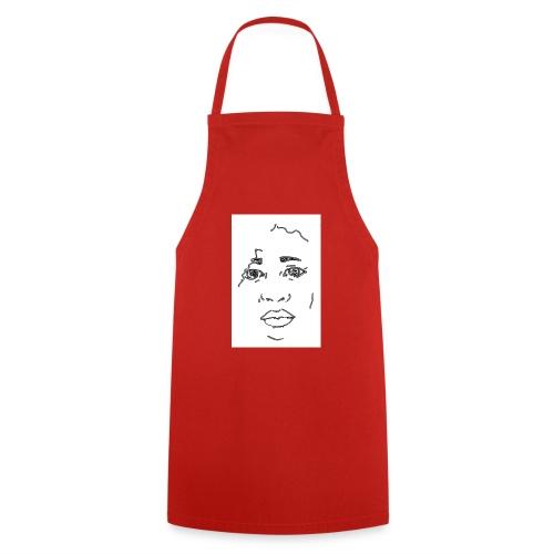 visage - Tablier de cuisine
