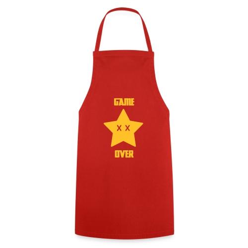 Game Over - Mario Star - Tablier de cuisine