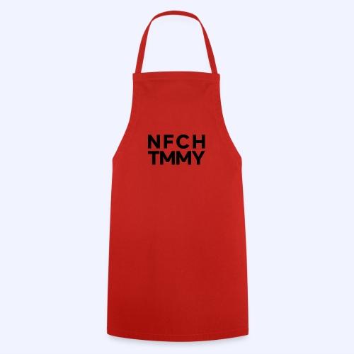 Einfach Tommy / NFCHTMMY / Black Font - Kochschürze
