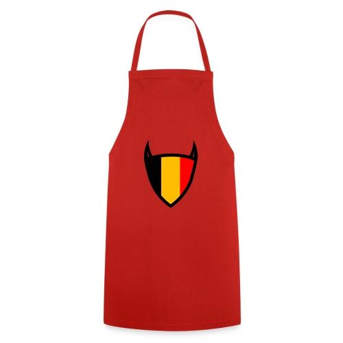 Diable du bouclier national belge - Tablier de cuisine