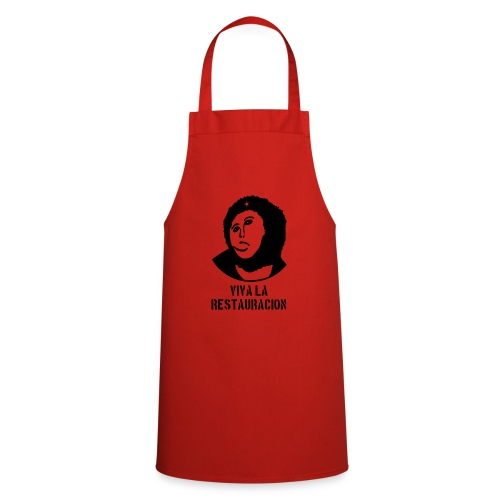 Monkey Chésus - Male - with text - Cooking Apron