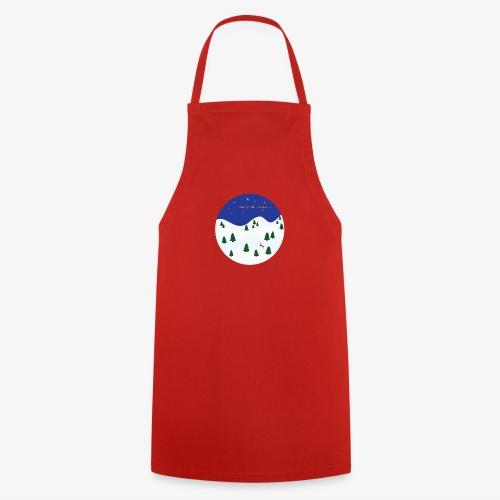 boule Noël bleue - Tablier de cuisine