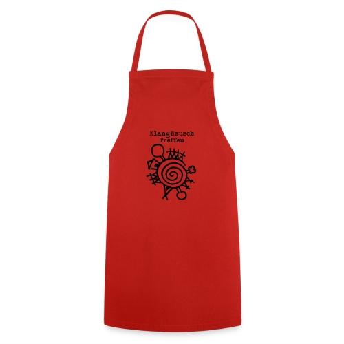 KlangRauschTreffen Logo mit Schrift - Kochschürze