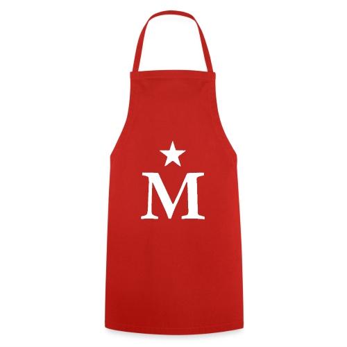 M de Moderdonia blanca - Delantal de cocina