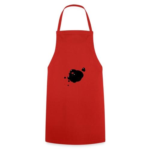 vlek inkt zwart - Keukenschort
