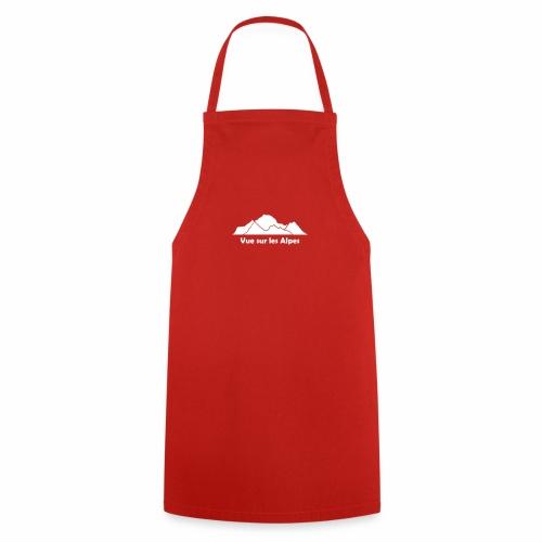 Vue sur les Alpes - Tablier de cuisine