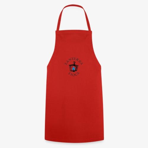 Logo e Scritta Lanterna Fioca - Grembiule da cucina