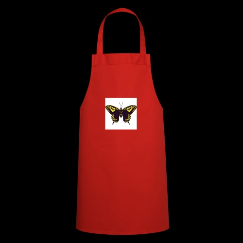 Black & Yellow Butterfly - Cooking Apron