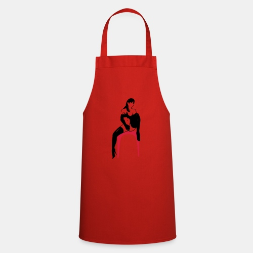 girl masterbate 2 color - Kochschürze