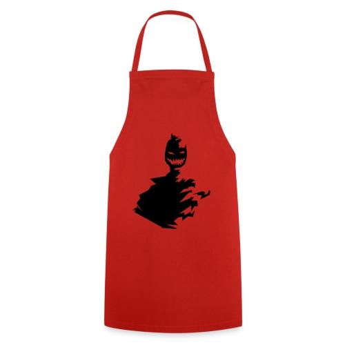 t shirt monster (black/schwarz) - Kochschürze