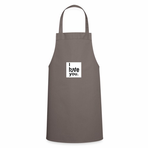 love hate - Cooking Apron