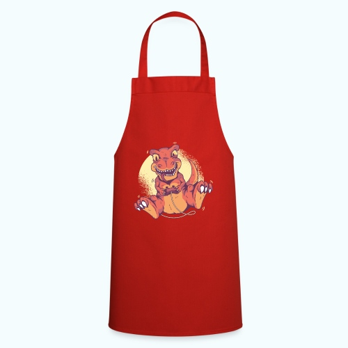 Funny Dino player - Cooking Apron