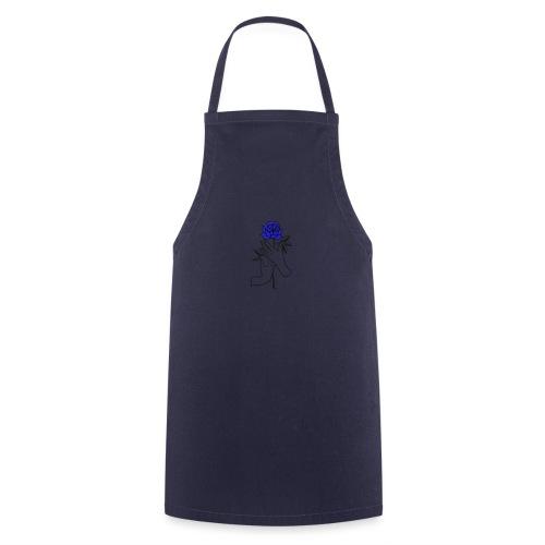 Fiore blu - Grembiule da cucina