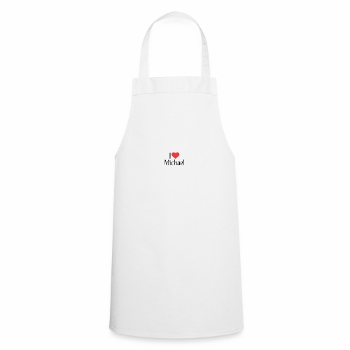 Michael designstyle i love Michael - Cooking Apron