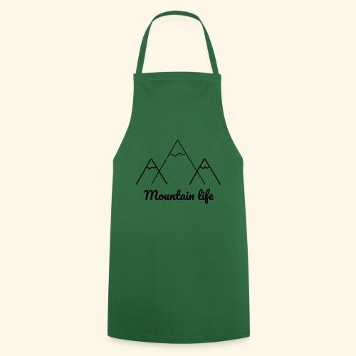logo montagne 2 - Tablier de cuisine