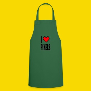 I Love Pixels - Fartuch kuchenny