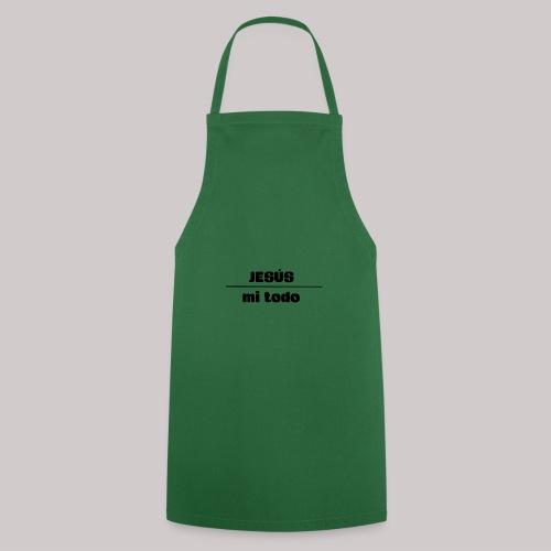 Jesús, mi TODO - Delantal de cocina