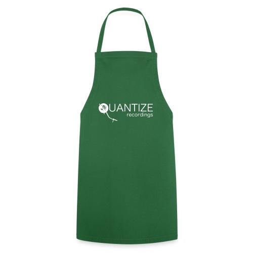 Quantize White Logo - Cooking Apron