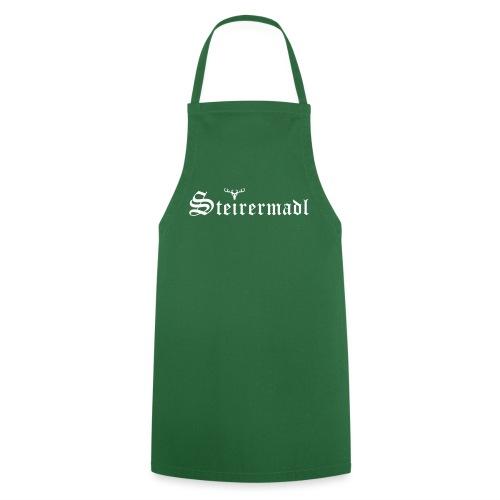 Steirermadl mit Hirsch - Kochschürze