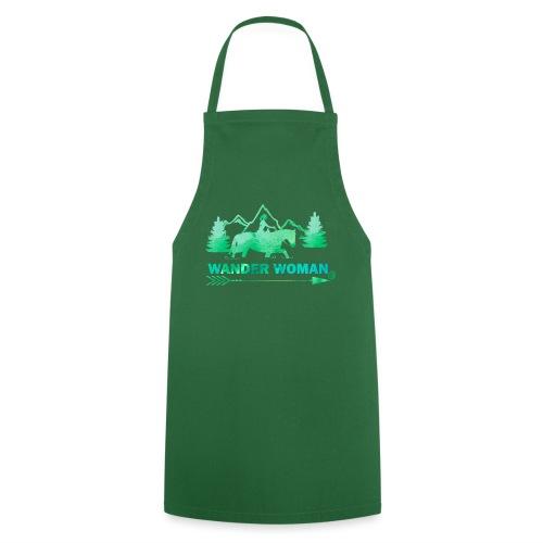 Sprücheshirt - Wander Woman - Kochschürze