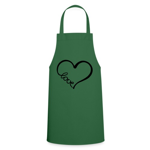 love heart 2 - Cooking Apron