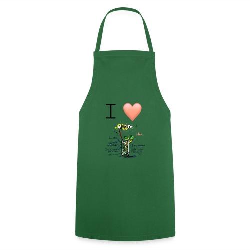 I love Mojito - Tablier de cuisine
