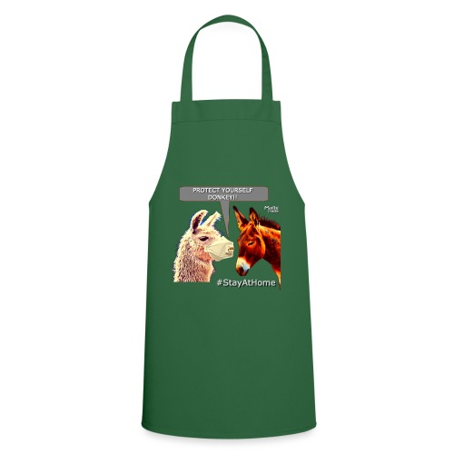 Protect Yourself Donkey - Coronavirus - Cooking Apron