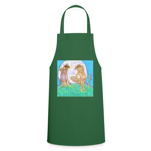 Arthur & Guinevere.. before things got complicated - Cooking Apron