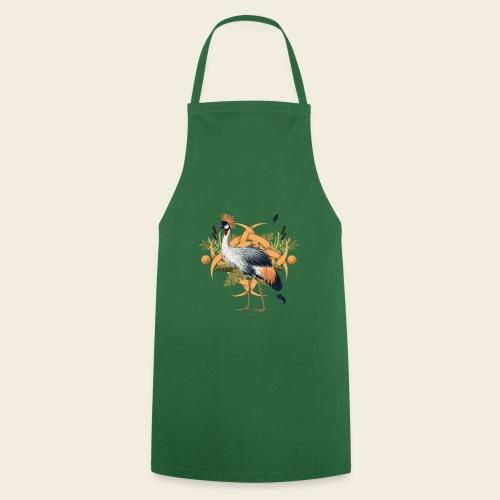 Kronenkranich - Kochschürze
