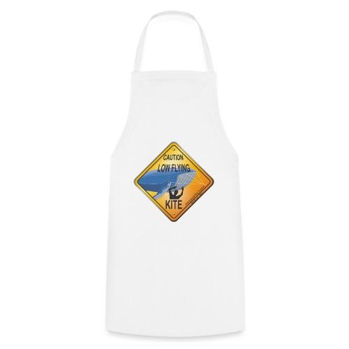 Roadsign Attention cerf-volant à basse altitude - Tablier de cuisine