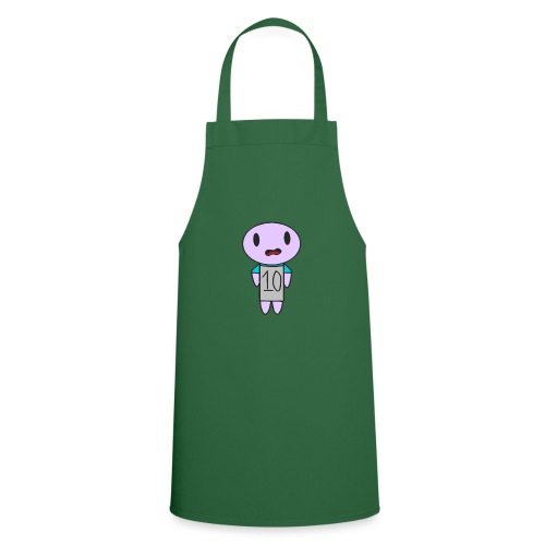 ahhhh ten on a t-shirt - Cooking Apron