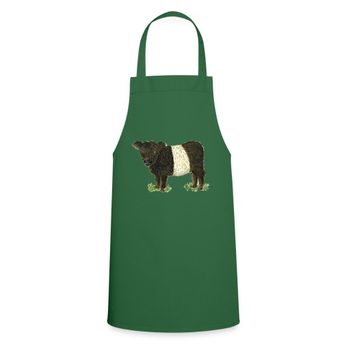 Beltie Belted Galloway Cow - Cooking Apron