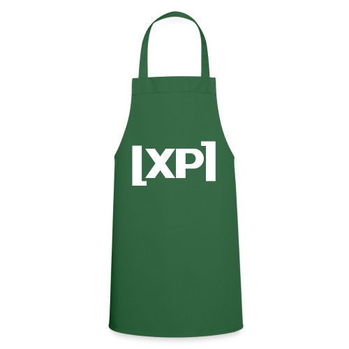 Klammelogo XP (hvid) - Forklæde
