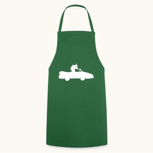 Cadeau de permis de conduire drôle de voiture de la Licorne convertible - Tablier de cuisine
