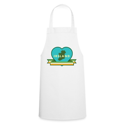 Ireland Love Heart 1 - Cooking Apron