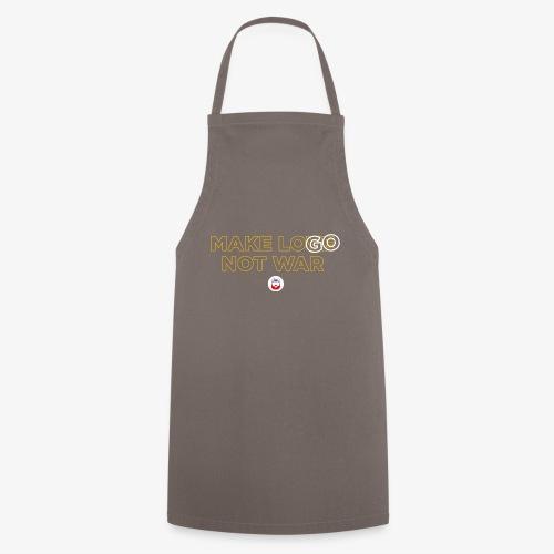 Make LOGO not WAR - Grembiule da cucina