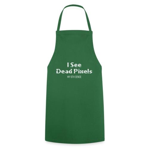 ISeeDeadPixels_White - Keukenschort