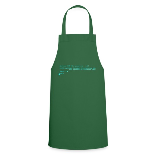Amstrad CPC 464 Green Screen BASIC retro computer - Cooking Apron