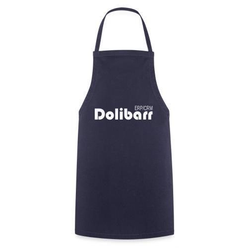 Dolibarr logo white - Cooking Apron
