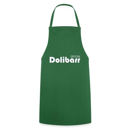 Dolibarr logo blanco - Delantal de cocina