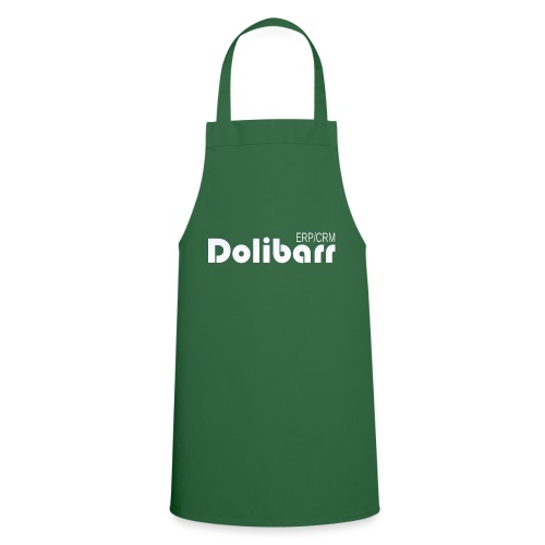 Dolibarr logo white - Cooking Apron