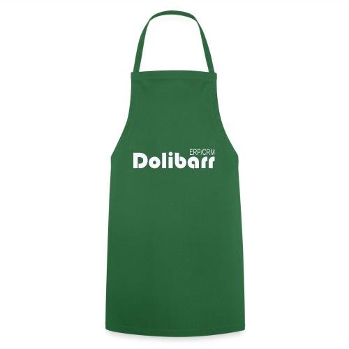 Dolibarr logo white - Tablier de cuisine