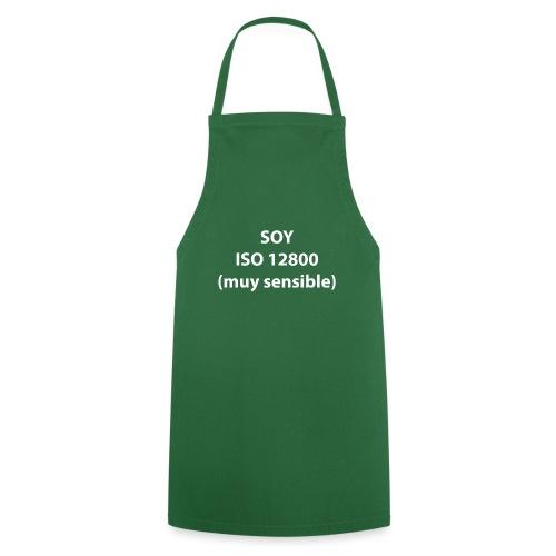 SOY ISO 12800 MUY SENSIBLE sin logo - Delantal de cocina