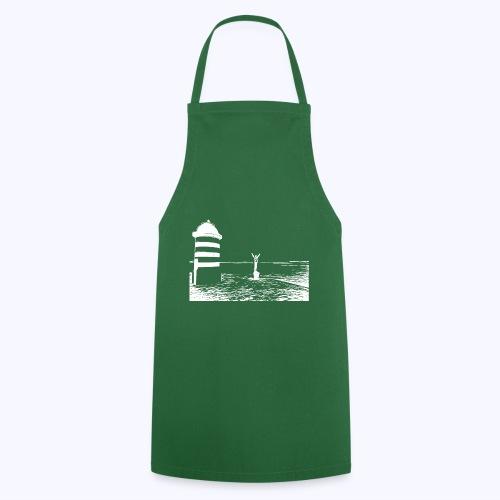 Leuchtturm weiss - Kochschürze