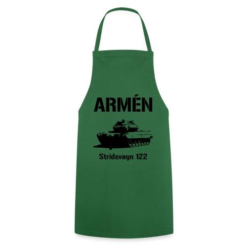 ARMÉN - Stridsvagn 122 - Förkläde