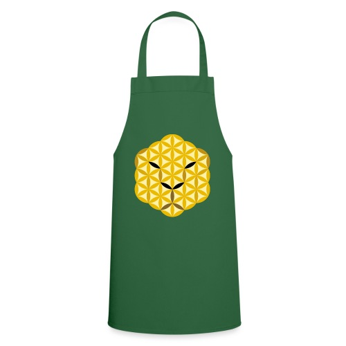 The Jaguar Face of life - Sacred Animals, Face 01 - Cooking Apron