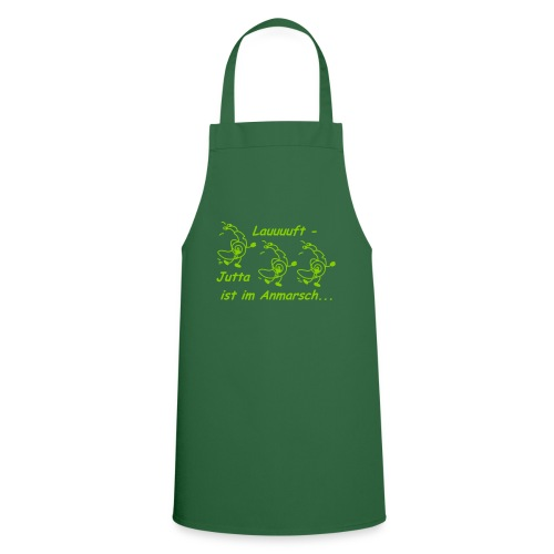 RennSchneckelauuuft - Kochschürze